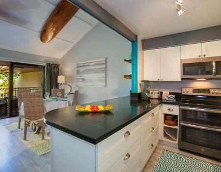 Koa Resort Remodeled Kitchen