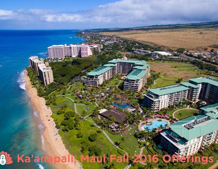 Kaanapali fall offerings