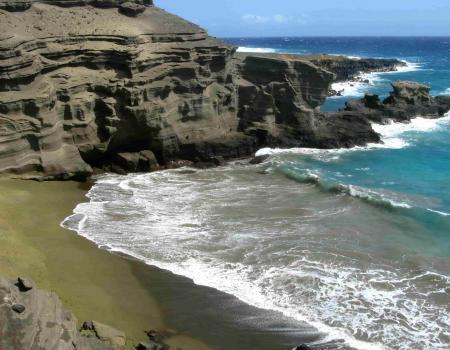 Big Island Green Sand Beach