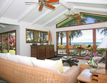 lani kai kauai vacation rental living room