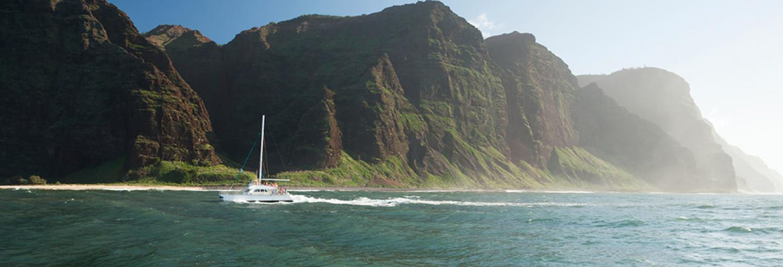 Kauai Boat Tour Na Pali Coast