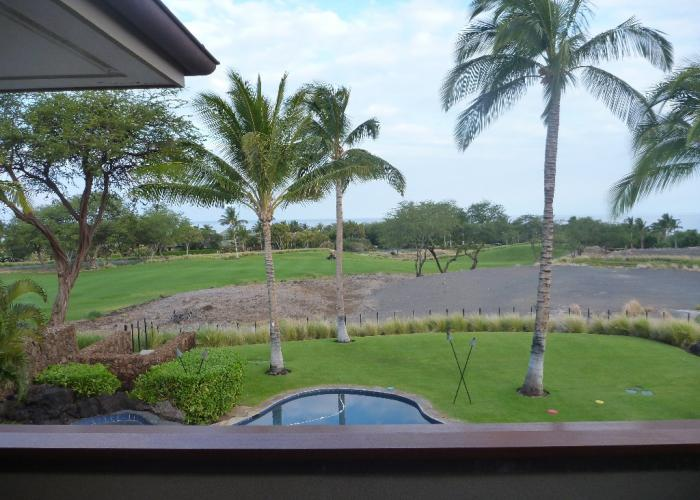 View of property and Hapuna Golf Course
