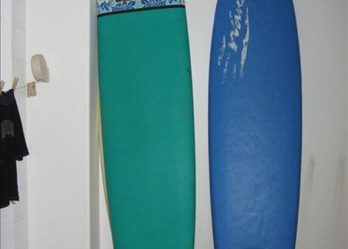 Surfboard rentals available