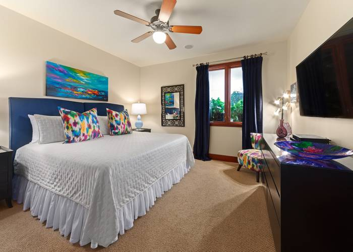 Second Master Bedroom - Choose Two Twins or One King