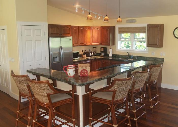 Gourmet Kitchen with Seating for 5