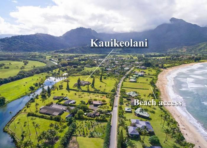 Kauikeolani Beach Access