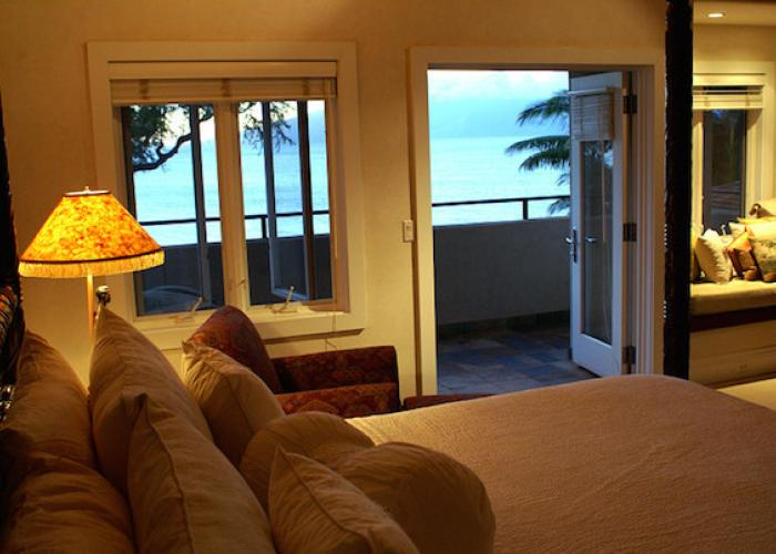 Ocean views from bedroom