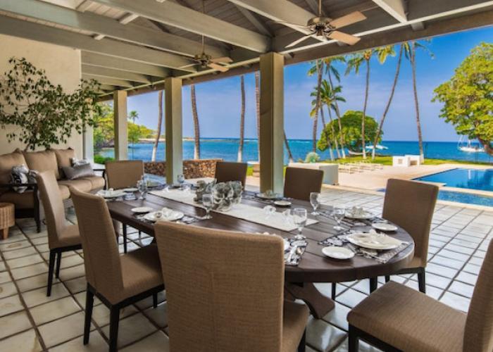 Lanai dining table