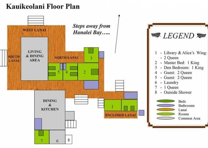 Kauikeolani Floor Plan