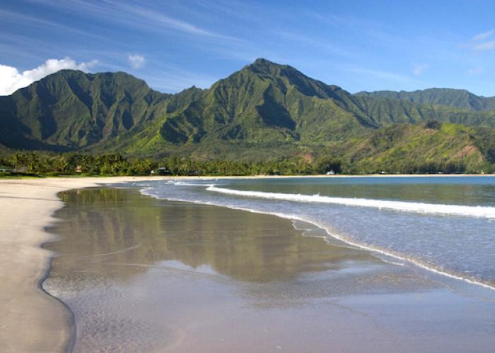 Beach in Haena