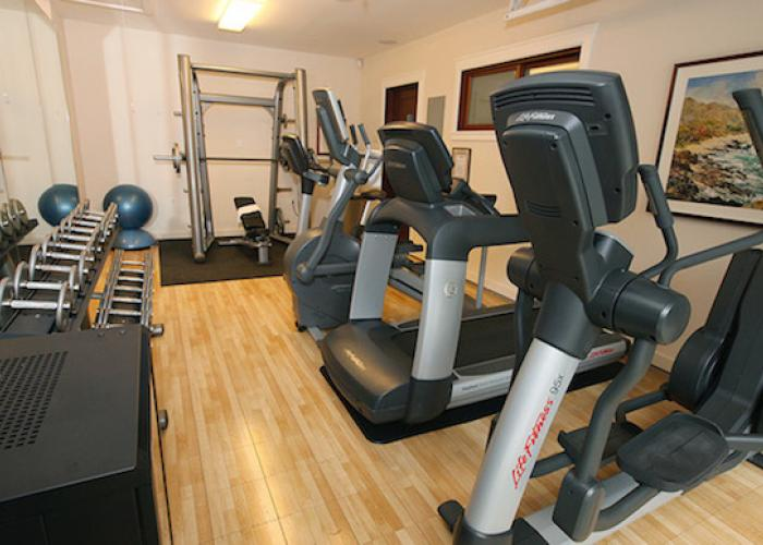 Indoor gym