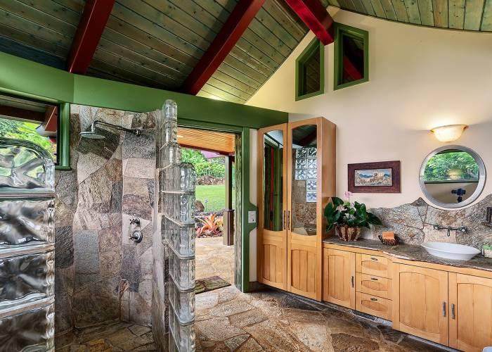 Shower House Entrance
