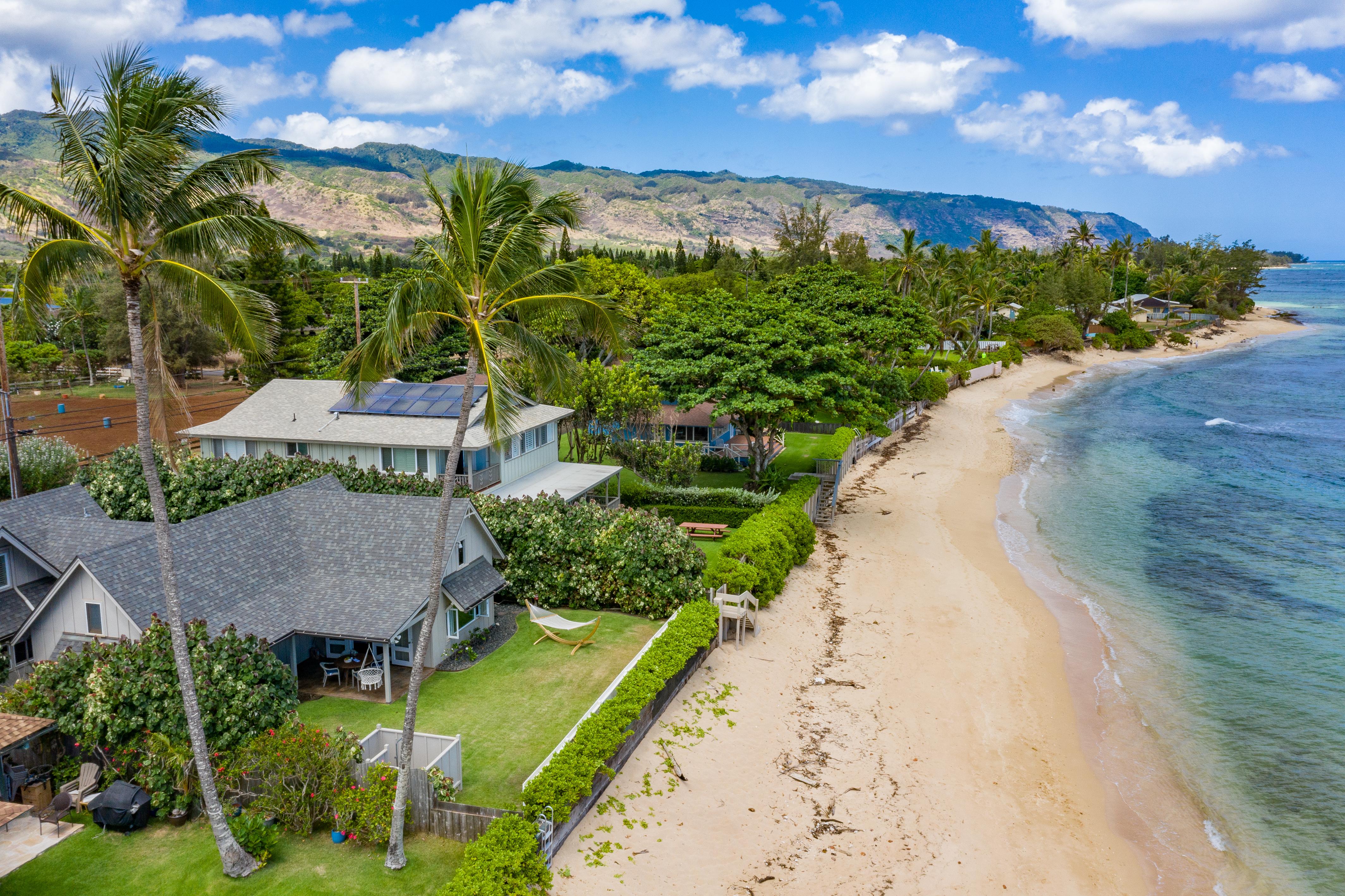 Hawaii Vacation Rental Home, Oahu Outdoor Shower Rentals