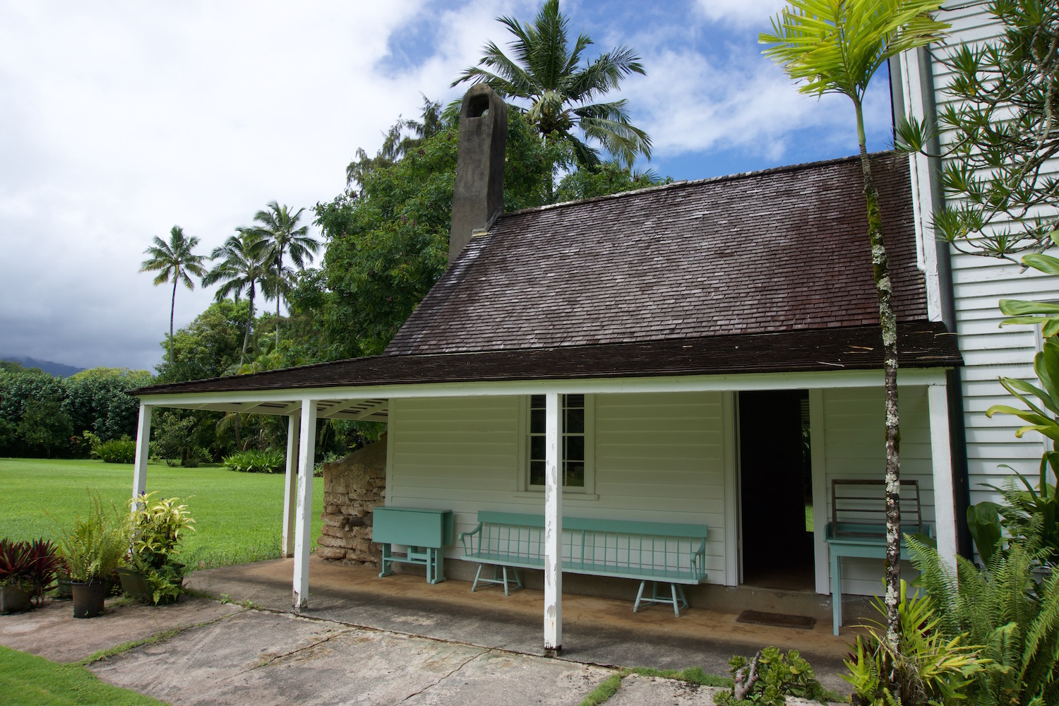 The Historic Waioli Mission House In Hanalei Hawaii Life