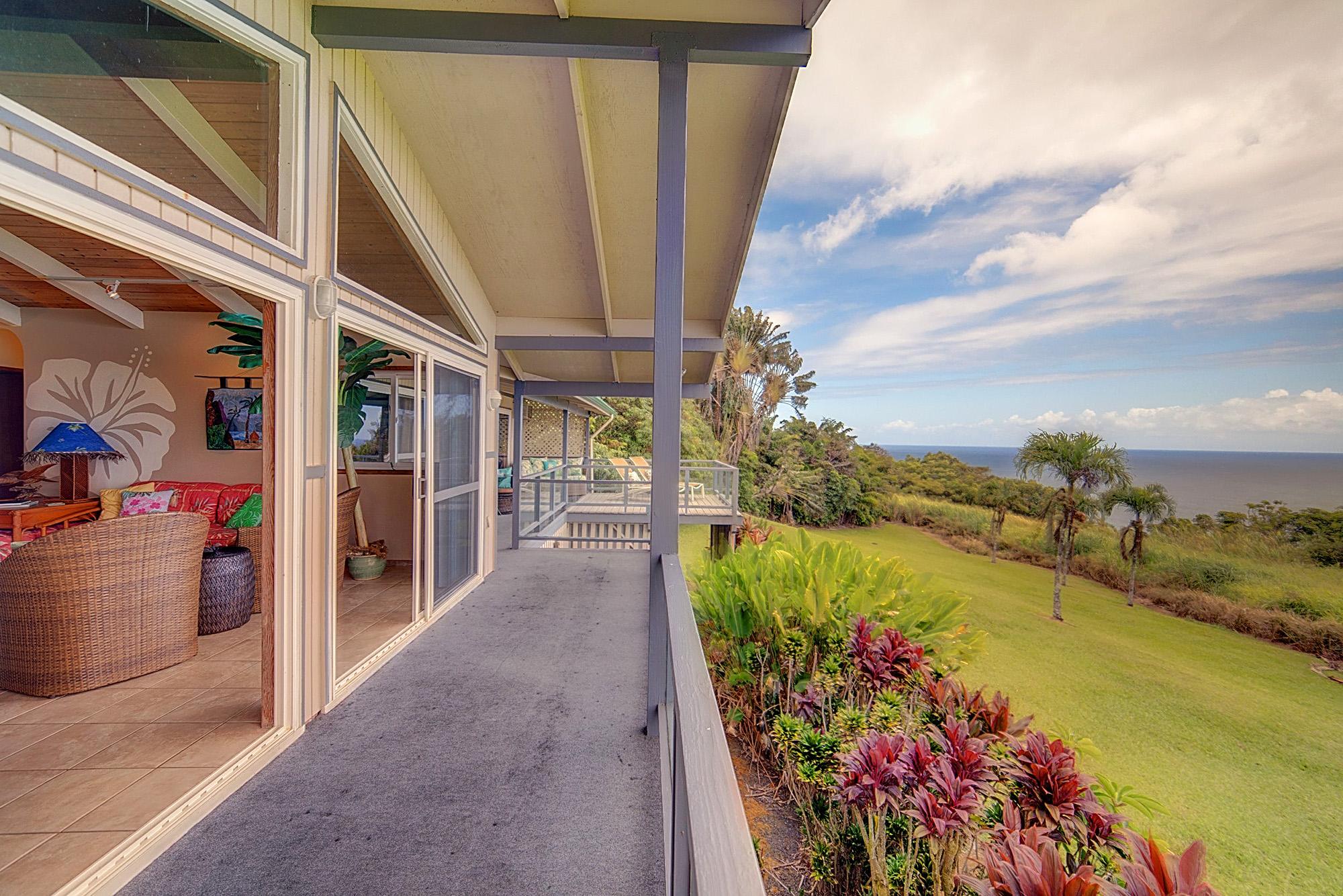 Hawaii Vacation Rental Home, Big island ocean view rental