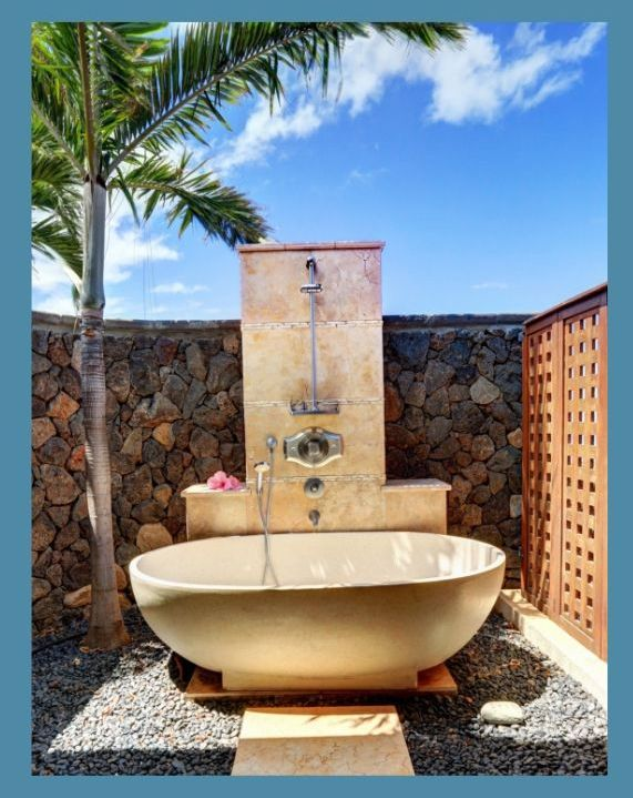 Aloha Spirit Maui Outdoor Shower