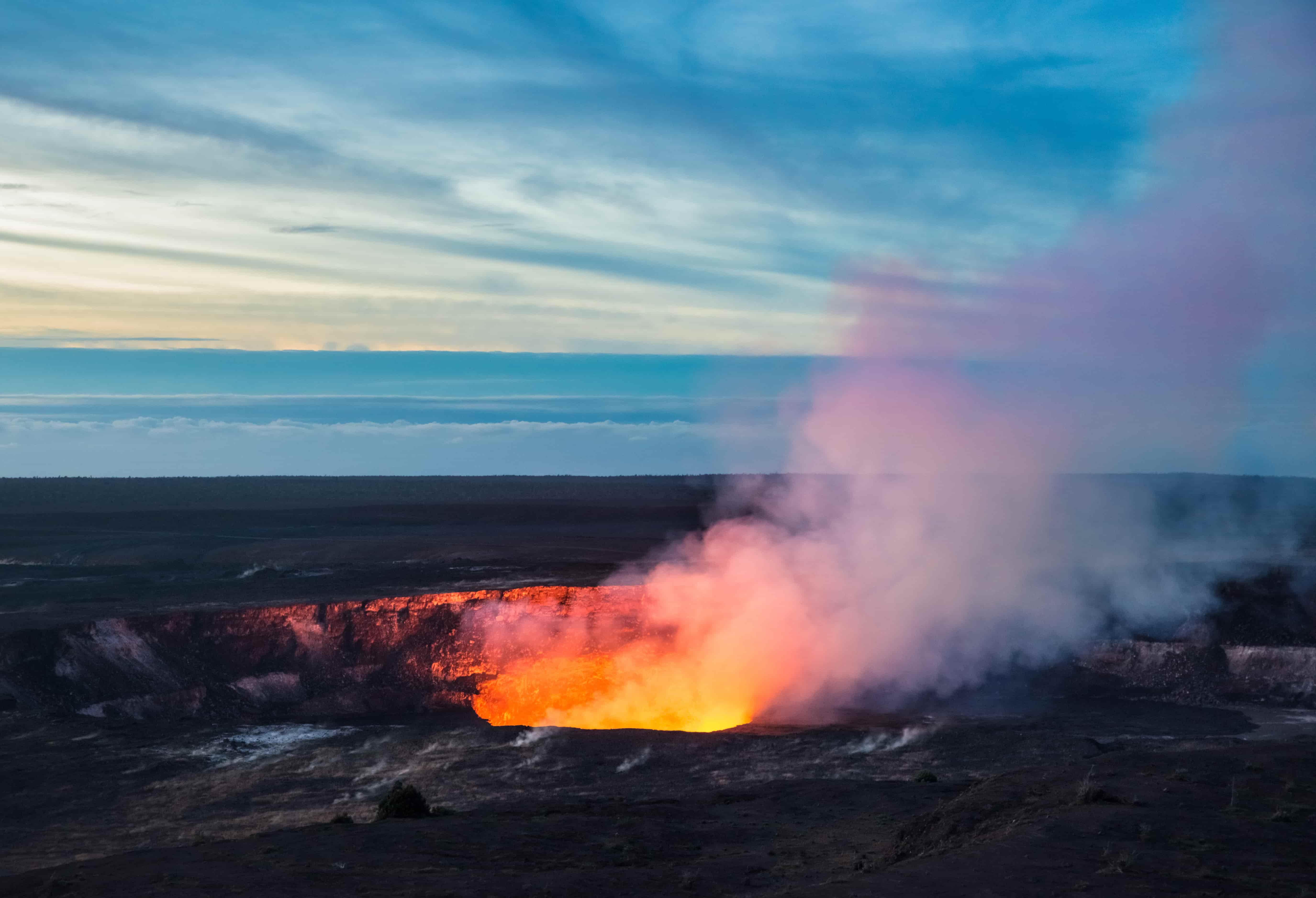 Big Island Active Volcano