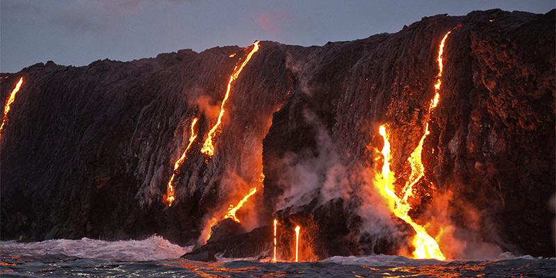 Big Island of Hawaii Lava