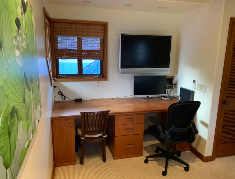Oahu Vacation Rental Home Office