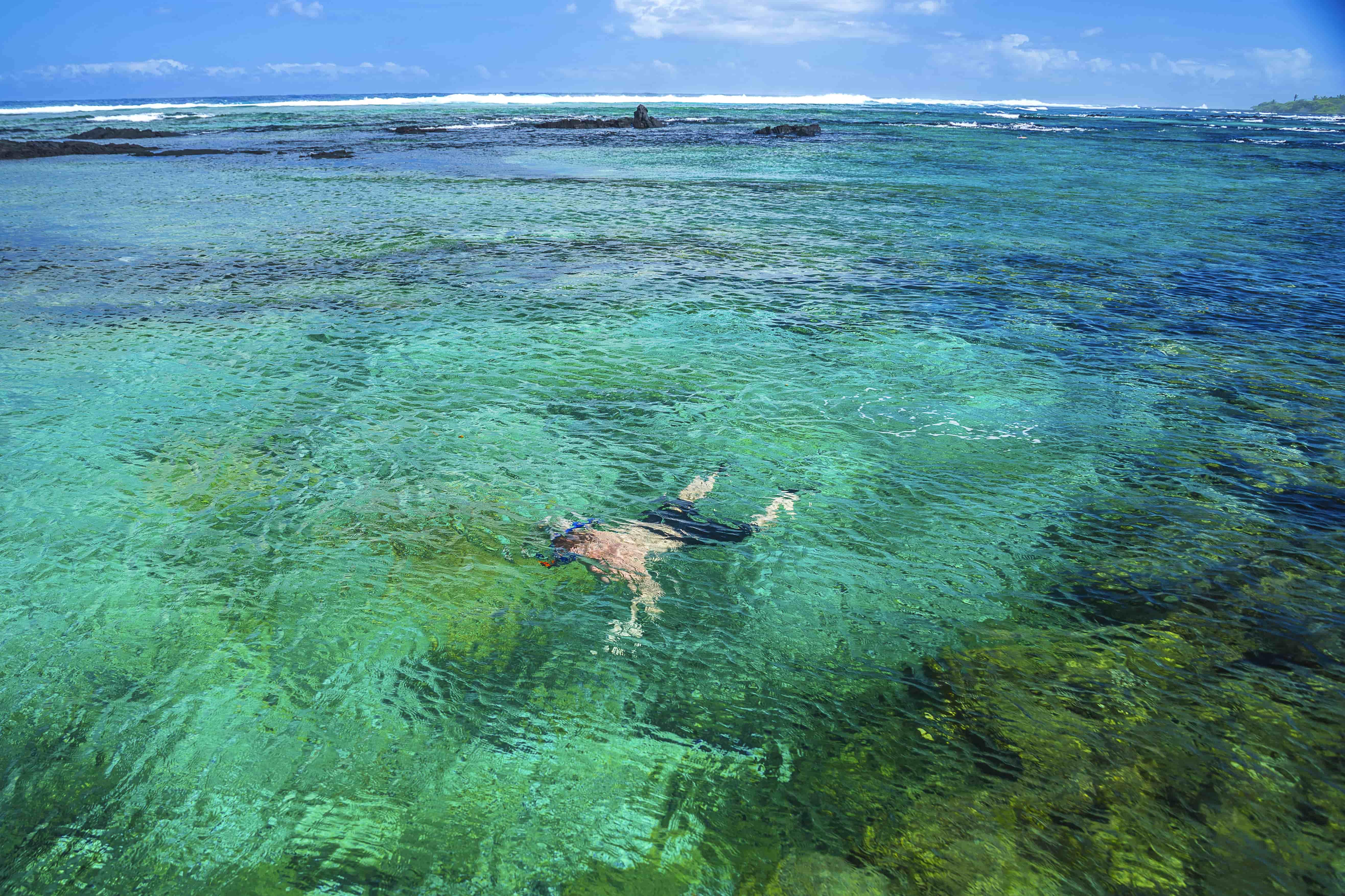 snorkeling big island kapoho