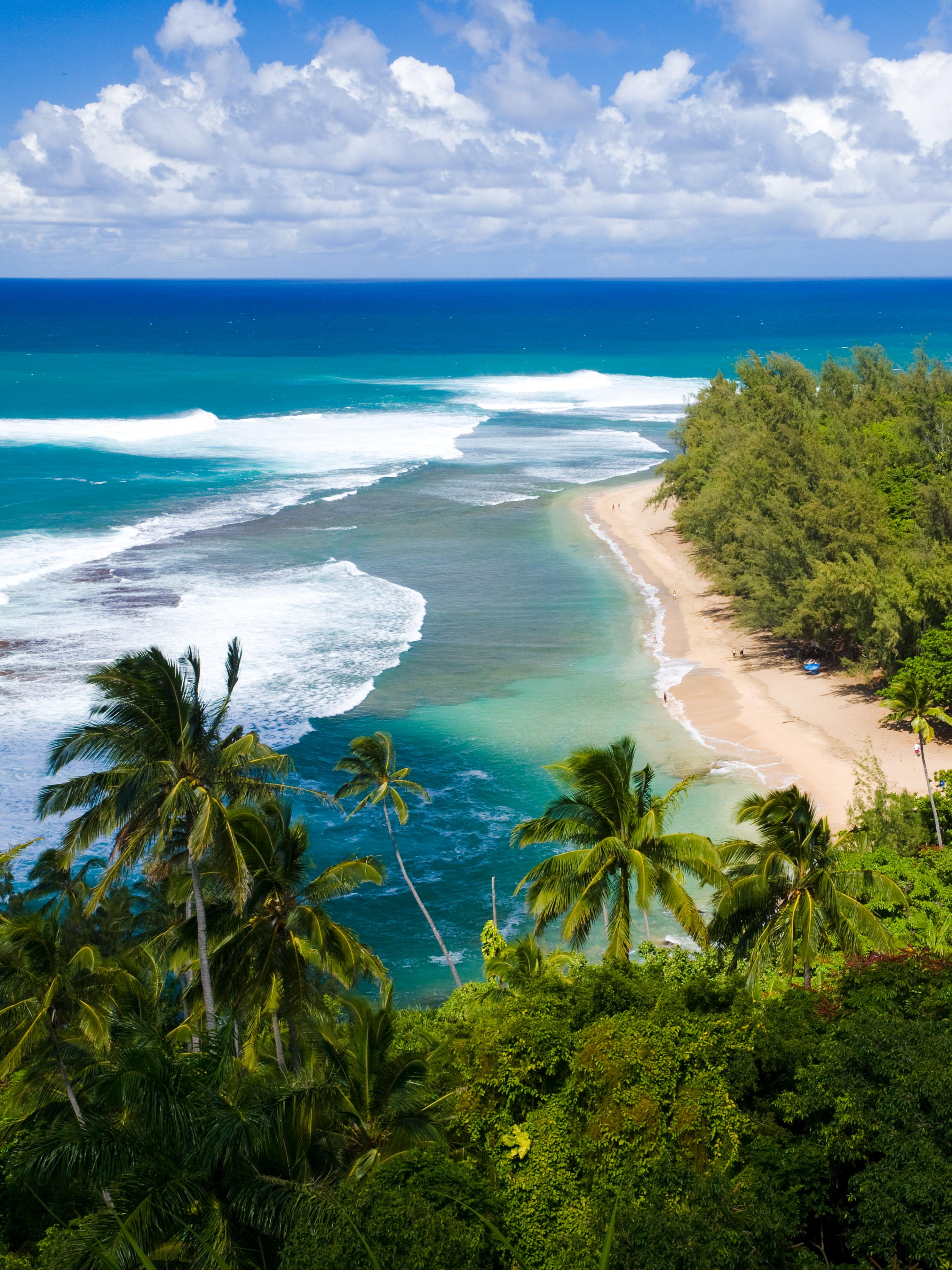 Best Kauai Snorkeling Spots, Ke'e Beach, Kauai Vacation