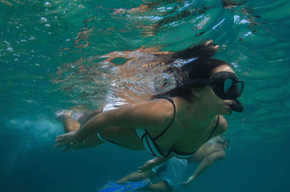 Hoʻokena snorkeling