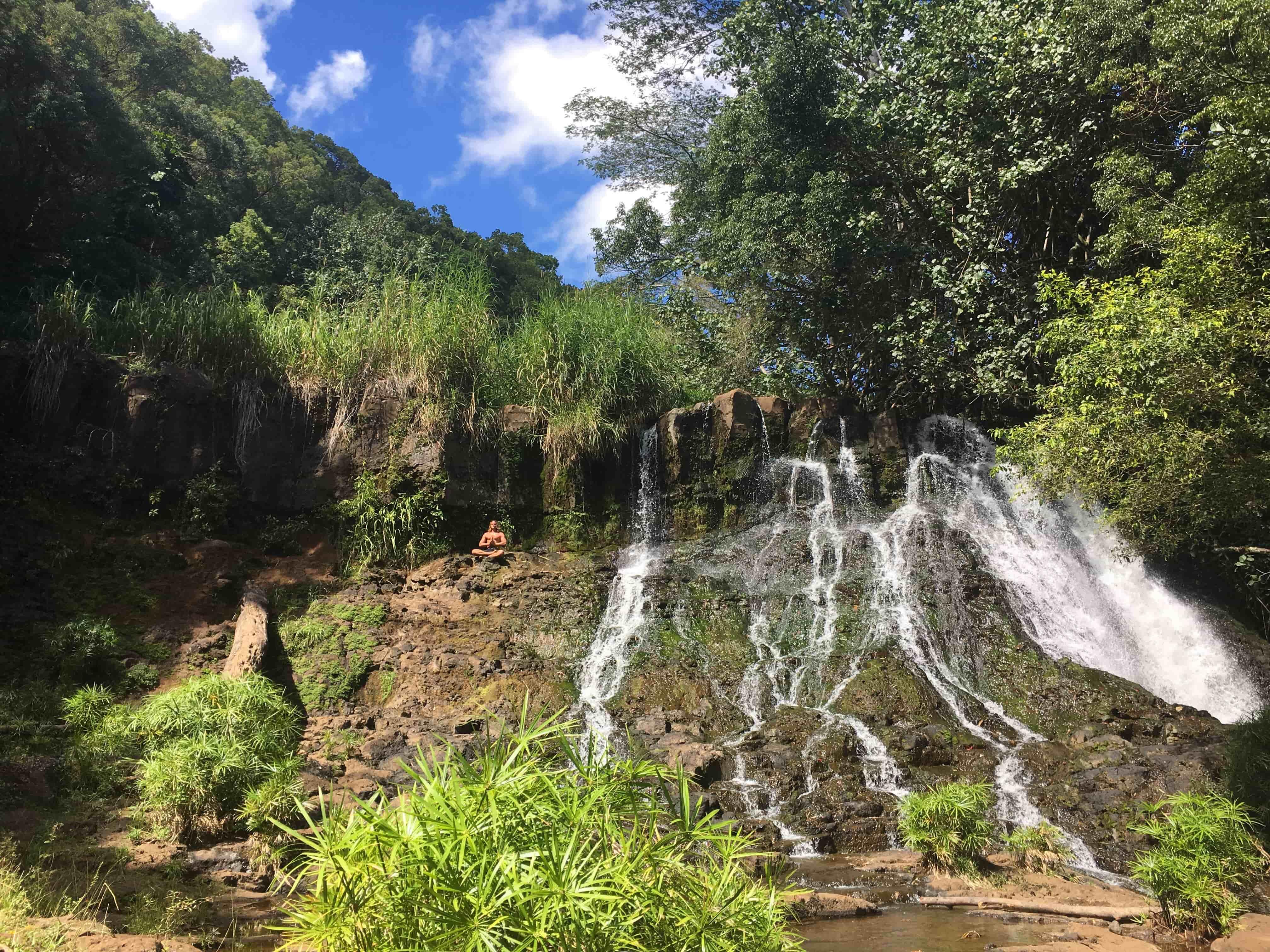 Ho'opi'i Trail falls