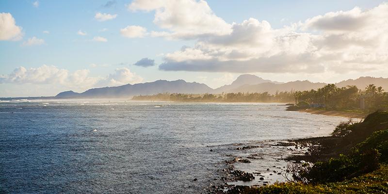 Kapaa Coastline
