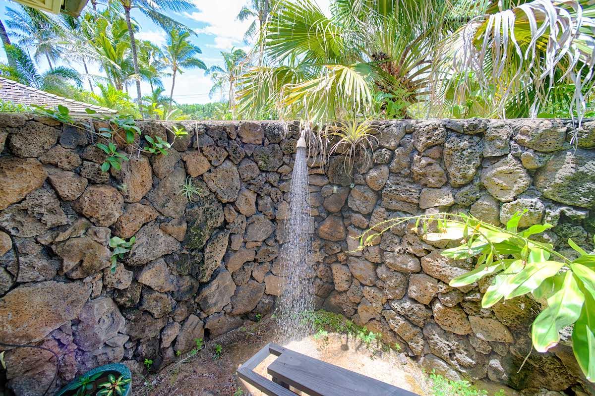 Kauai Beach House Outdoor Shower
