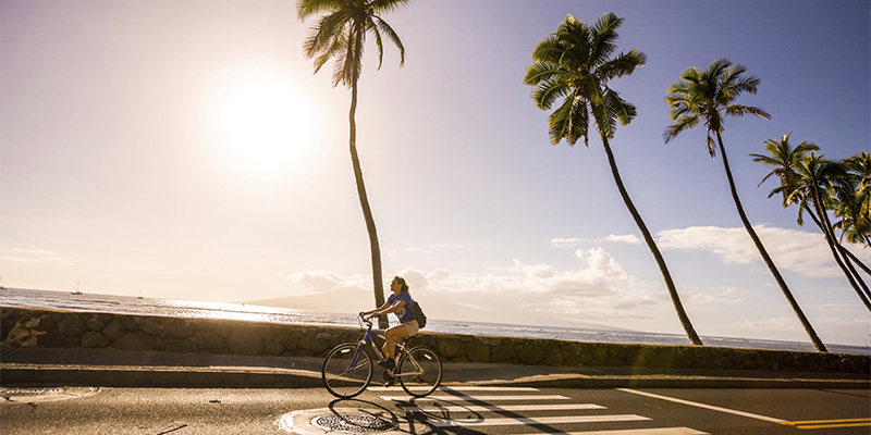 Bike Riding in Lahaina