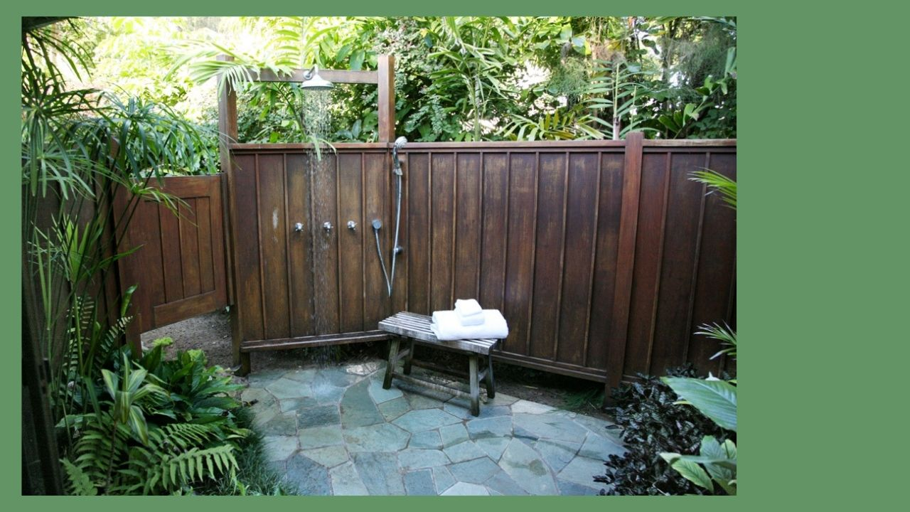 Lani Kai Outdoor Shower