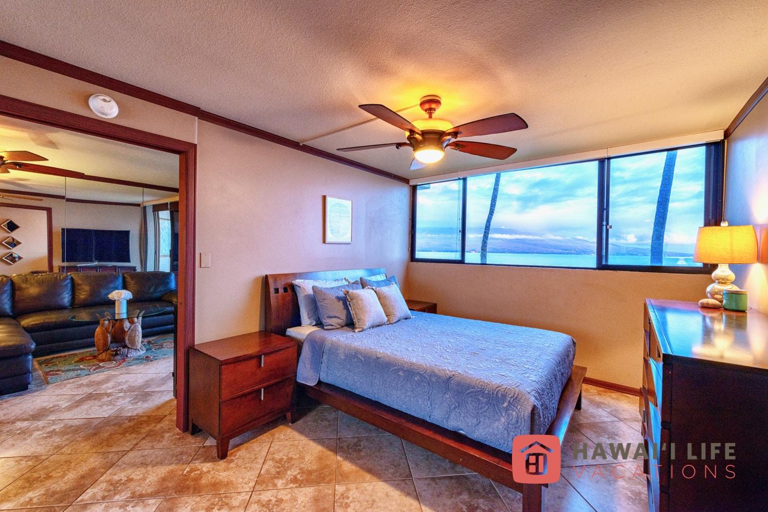 Kanai A Nalu Maui Vacation Rental - Master Bedroom