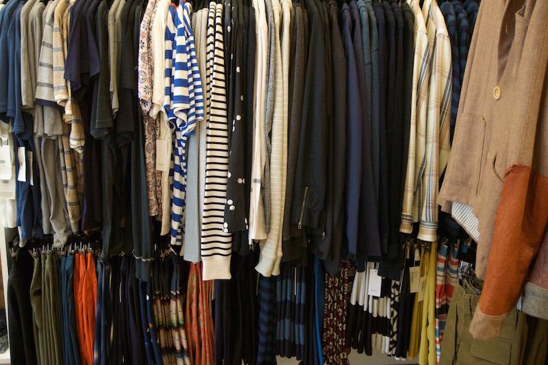 Men's clothing rack