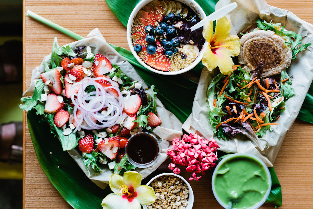 Delicious wraps, salads and bowls at NALU Health Bar & Cafe