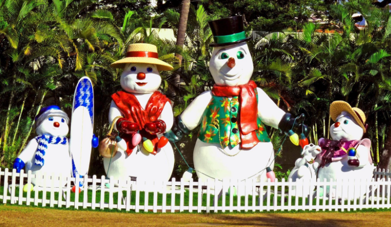 christmas on oahu