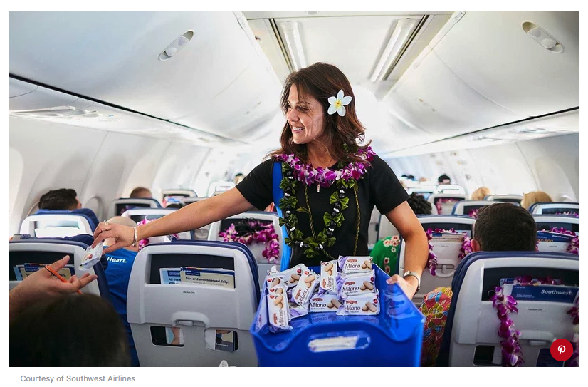 Southwest Airlines flight to hawaii